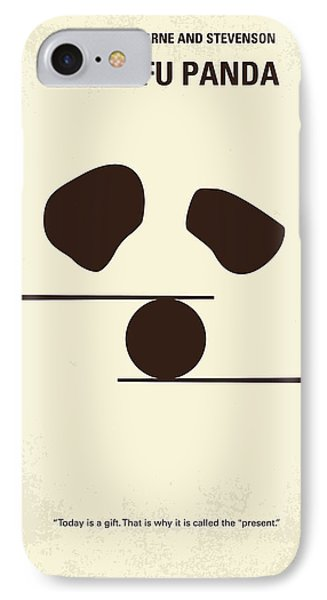 No227 My Kung Fu Panda Minimal Movie Poster IPhone Case