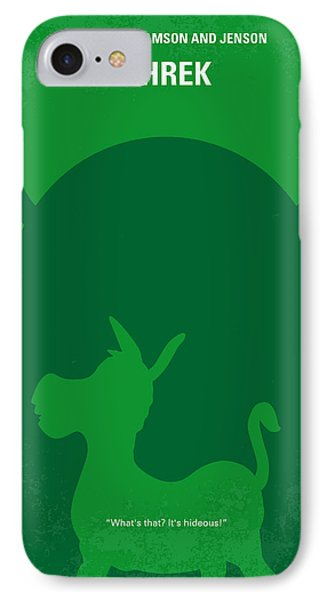 Fairy iPhone 8 Case - No280 My Shrek Minimal Movie Poster by Chungkong Art
