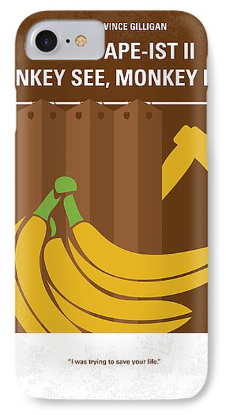No356 My Serial Ape-ist Minimal Movie Poster IPhone Case
