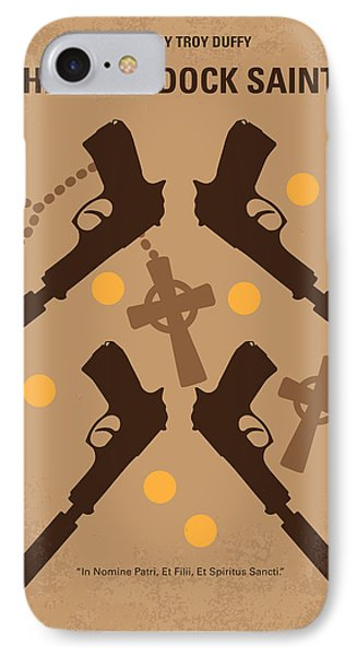 No419 My Boondock Saints Minimal Movie Poster IPhone Case