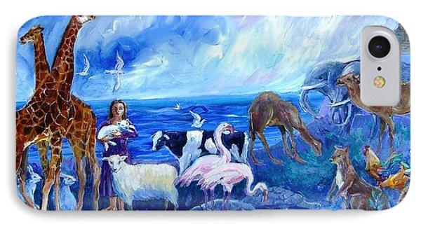 Noahs Ark - After The Flood  IPhone Case