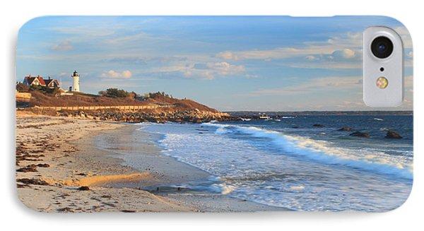 Nobska Lighthouse And Nobska Beach Cape Cod IPhone Case