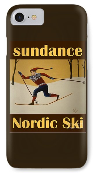 Nord Ski Poster IPhone Case
