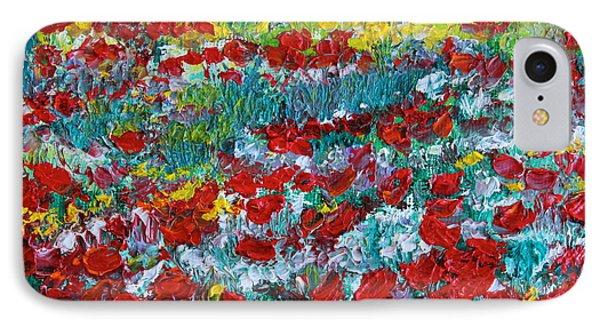 Normandy Poppy Field Dreams IIi IPhone Case
