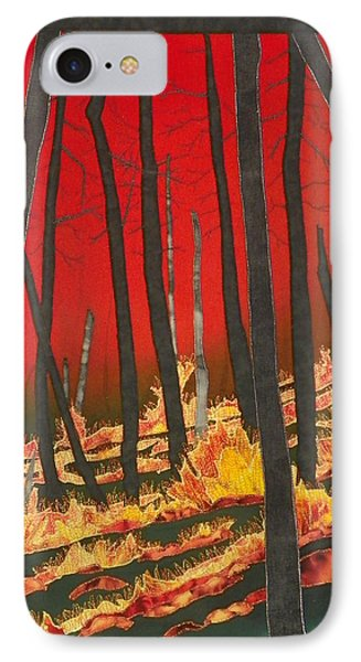 North Carolina Forests Under Fire II IPhone Case