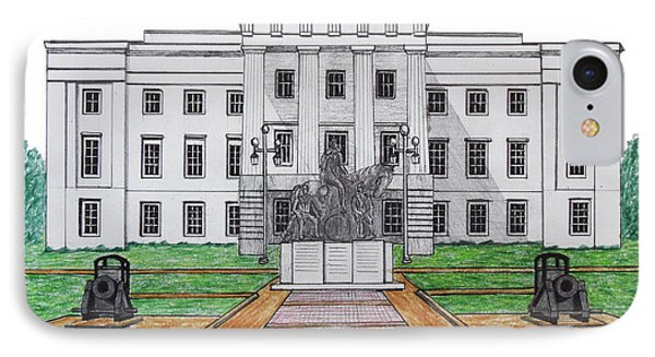 North Carolina State Capitol IPhone Case