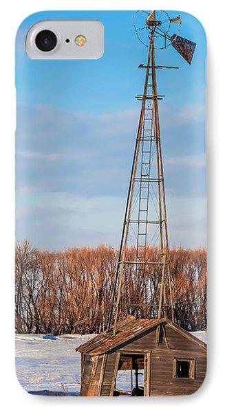 North Dakota Farmstead IPhone Case