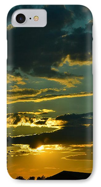 North Dakota Sunset IPhone Case