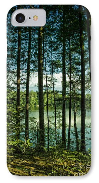 North Woods Lake IPhone Case