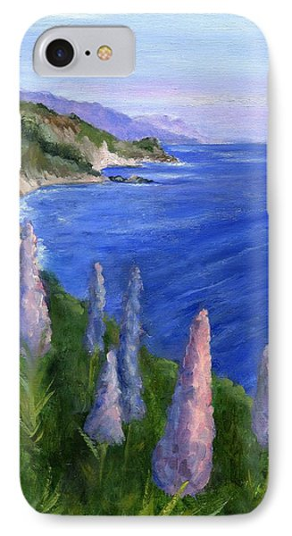 Northern California Cliffs IPhone Case