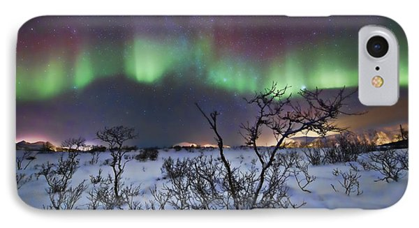 Northern Lights - Creative Editing IPhone Case