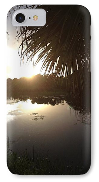 Not Quite Black And White - Sunset IPhone Case