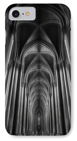 French iPhone 8 Case - Notre-dame Catha?dral by Oussama Mazouz