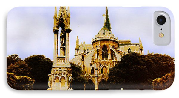 Notre Dame Cathedral IPhone Case