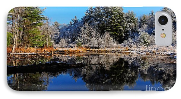 November Snow IPhone Case