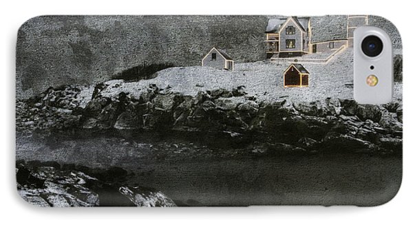 Nubble Light Stormy Night IPhone Case
