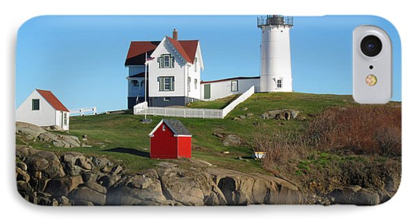 Nubble Lighthouse One IPhone Case