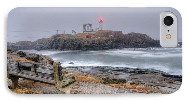 Nubble Lighthouse View IPhone Case