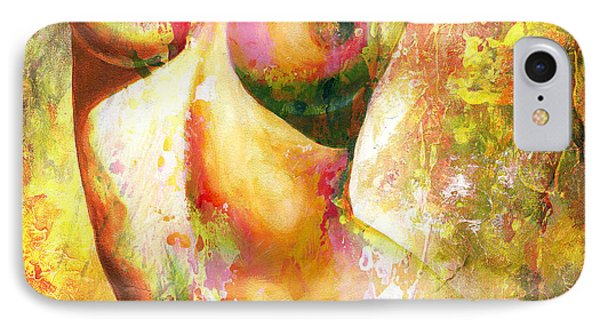 Nude Details - Digital Vibrant Color Version IPhone Case