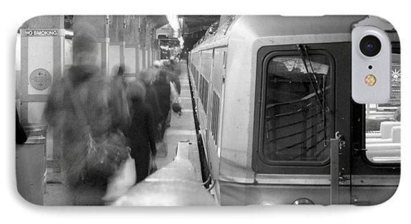 Metro North/ct Dot Commuter Train IPhone Case