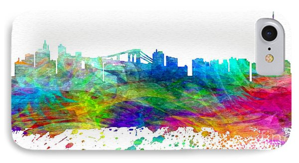 Nyc Watercolor Skyline IPhone Case