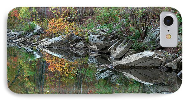 Oak-hickory Forest Along Lee Creek IPhone Case