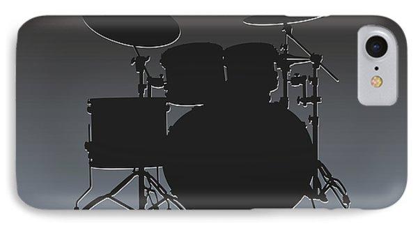 Oakland Raiders Drum Set IPhone Case