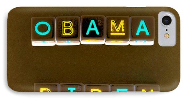 Obama Biden Words. IPhone Case