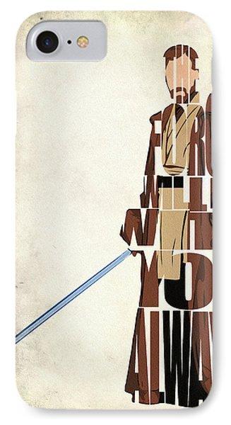 Obi-wan Kenobi - Ewan Mcgregor IPhone Case