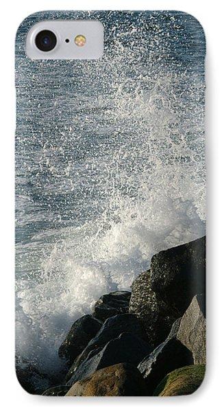 Ocean Beach Splash 1 IPhone Case