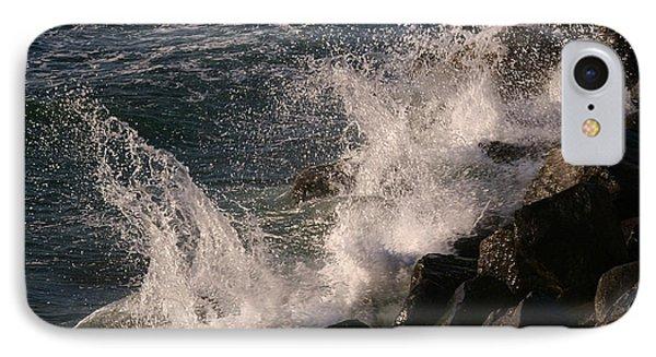 Ocean Beach Splash 3 IPhone Case