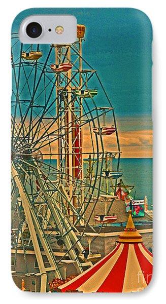 Ocean City Castaway Cove Ferris Wheel IPhone Case