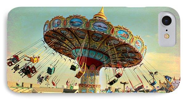 Ocean City Nj Carousel Swing Time IPhone Case