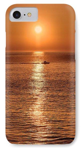 Ocean Sunrise At Montauk Point IPhone Case
