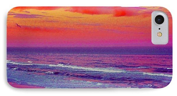 Ocean Sunset 1 IPhone Case