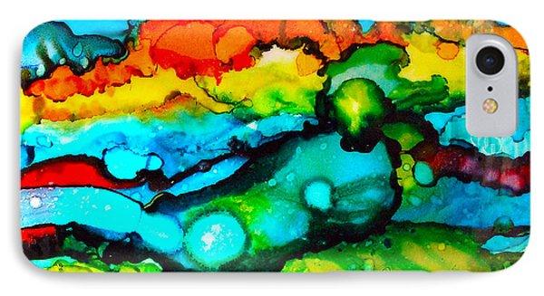 Ocean Tempest Tile IPhone Case