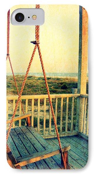 Ocean View At Oak Island 2 IPhone Case