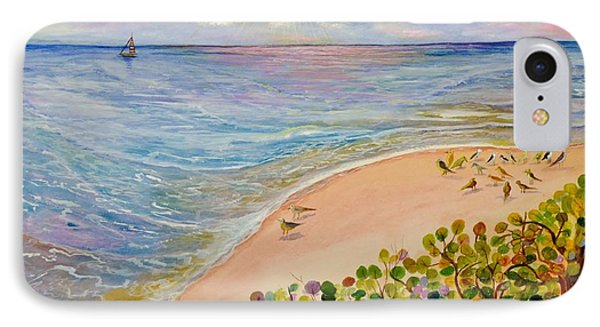 Seaside Grapes IPhone Case