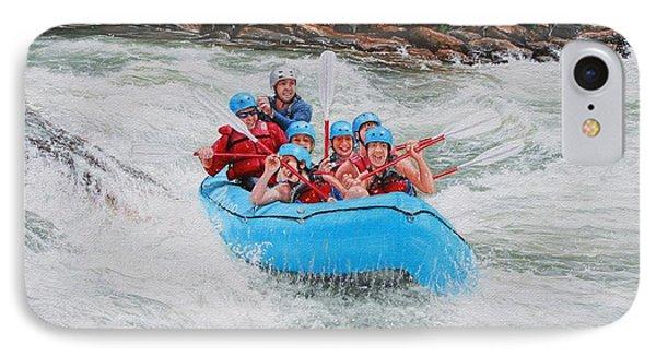 Ocoee River Rafting IPhone Case