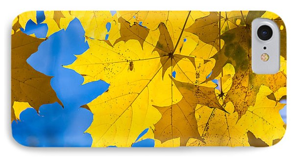 October Blues 8 - Square IPhone Case