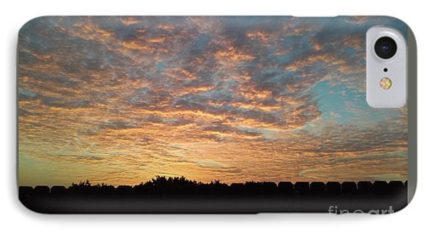 October Sunrise IPhone Case