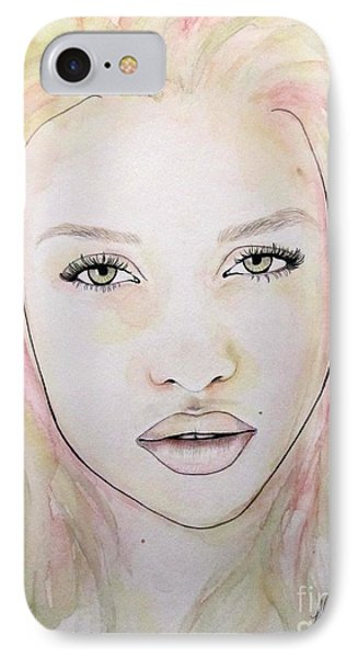 Of Colour And Beauty - Pink IPhone Case