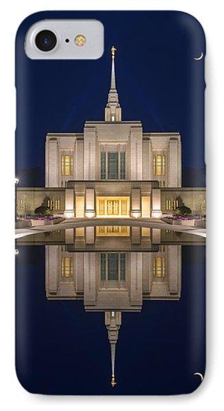 Ogden Temple Reflection IPhone Case