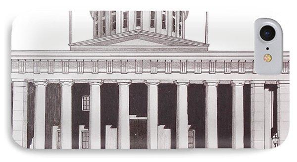 Ohio State Capitol IPhone Case