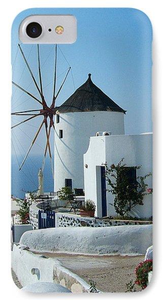 Oia Windmills IPhone Case