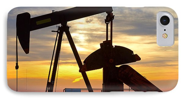 Oil Pump Sunrise IPhone Case