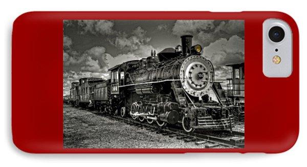 Old 104 Steam Engine Locomotive IPhone Case