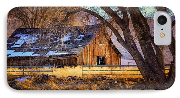 Old Barn In Sparks IPhone Case
