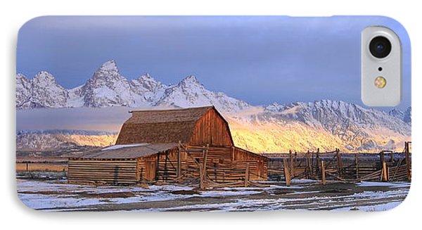 Old Barn On Mormon Row IPhone Case