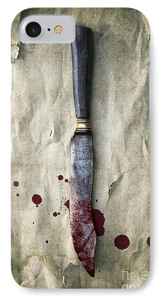 Old Bloody Knife IPhone Case